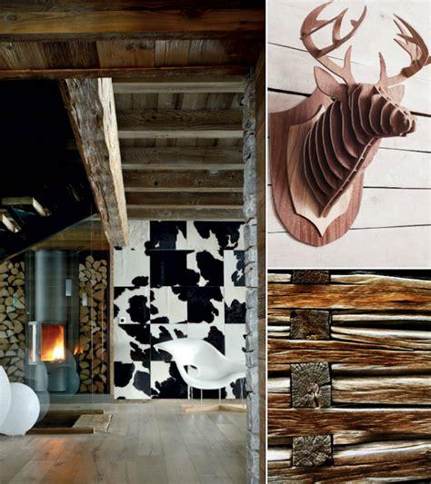 Decoration Montagne Chic by D 233 Coration Chalet De Montagne Chic Ou Moderne Les Cocons