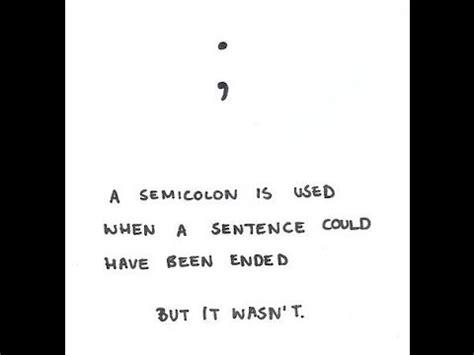 semicolon tattoo meaning self harm self harm goslindisasters