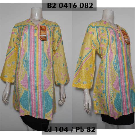 jual beli blus batik muslim blouse tunik batik wanita
