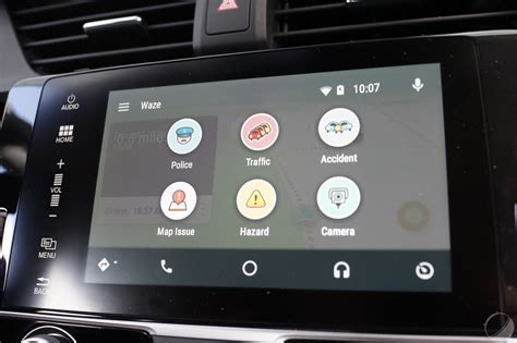 waze app for android waze sur android auto les premi 232 res images de l interface frandroid