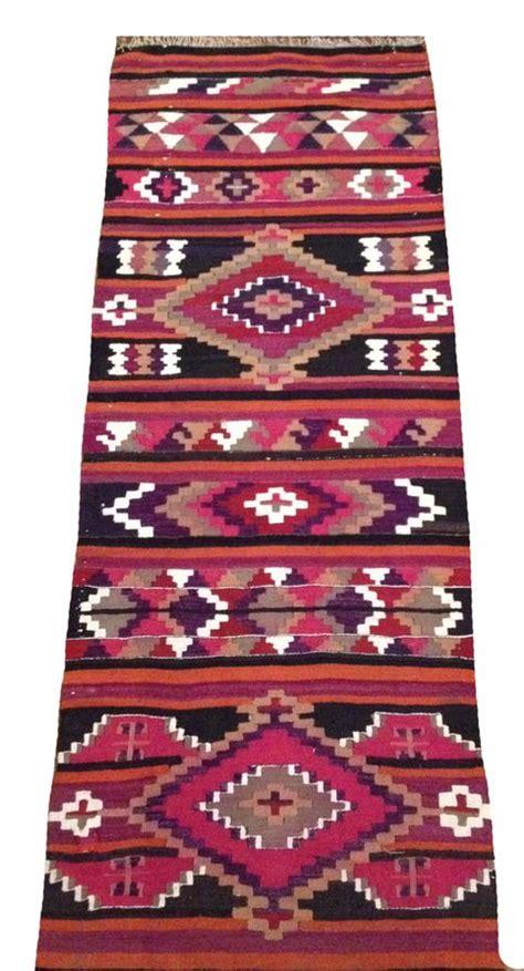 Aztec Runner Rug Aztec Runner Rug Navajo Area Rugs Black Magenta Orange Motif Rug Jpg Egoweblog