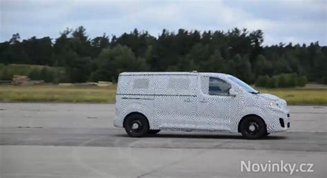 Skoda Van Spied During Testing, It?s Based On the New