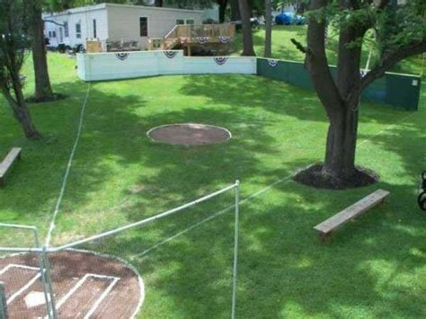 Backyard Baseball Wiffle Wiffle Field Epic Outdoor Living
