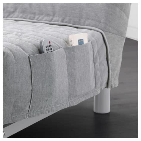 light grey sofa bed beddinge l 214 v 197 s three seat sofa bed knisa light grey ikea