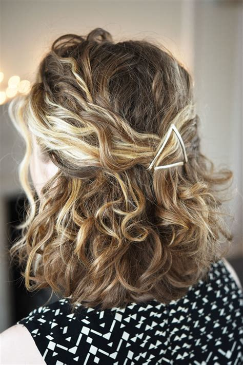 cute way to pull back medium gair 17 incredibly pretty styles for naturally curly hair