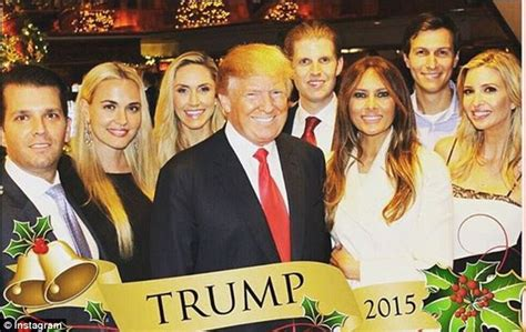 the trump family donald trump has his entire family over to his florida