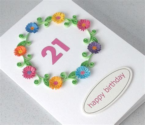 How To Make A Handmade L - handmade quilling paper birthday greeting cards 2015