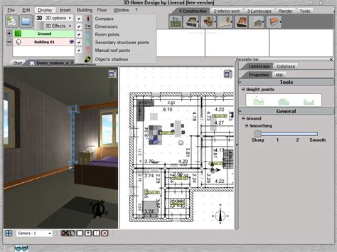 free home blueprint software home design software free and this 3d home design software