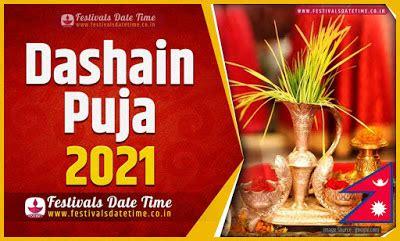 dashain date time  dashain nepali calendar