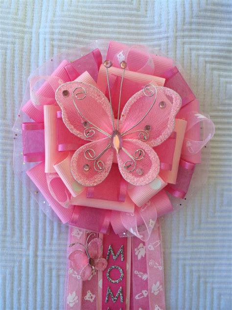 Baby Shower Pins Corsages by Butterfly Baby Shower Corsage Baby Shower Pin