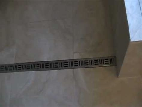 Noble Shower Drains by Curbless Shower With Noble Free Style Linear Drain
