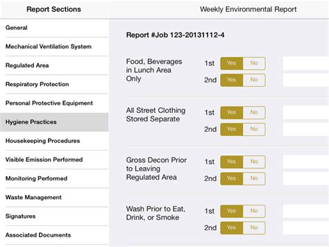 Air Quality Test Report Template Qc Report For Air Sling Lead And Asbestos Monitoring