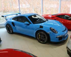 Porsche 911 Gt3 Rs Blue Porsche 991 Gt3 Rs Painted In Riviera Blue Photo Taken By