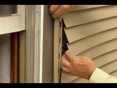 how to fix siding on your house how to fix leaky siding this old house youtube