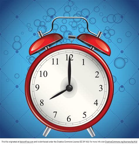 Alarm Vector free alarm clock vector