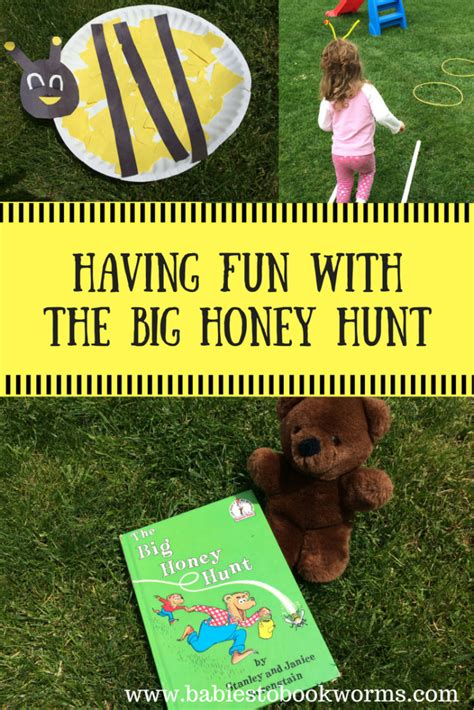honey hunt for with the big honey hunt babies to bookworms