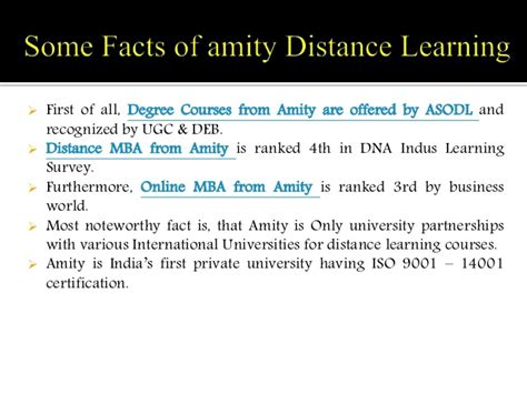 Amity Distance Learning Mba Syllabus by Review About Amity Distance Learning By