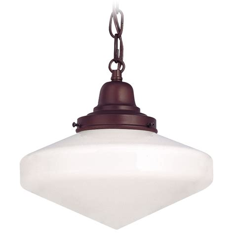10 inch pendant lights 10 inch bronze schoolhouse mini pendant light with chain