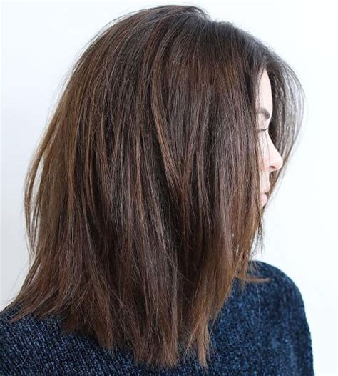 60 most beneficial haircuts for thick hair of any length lob 60 most beneficial haircuts for thick hair of any length