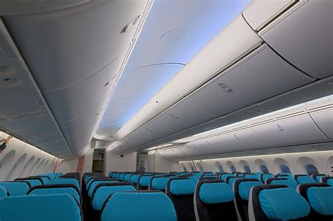 interior layout of boeing 787 boeing offers first look at actual 787 interior wired
