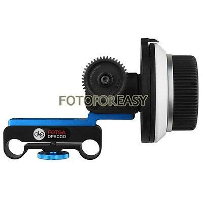 fotga dp3000 dslr follow focus for 15mm rod rig 5d ii iii