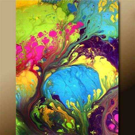 Acrylic Pouring Just This Techniques