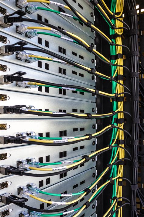 Datacenter Rack Management by Beautiful Cable Management Pactech S Data Center Cables In Real Photos Pactech