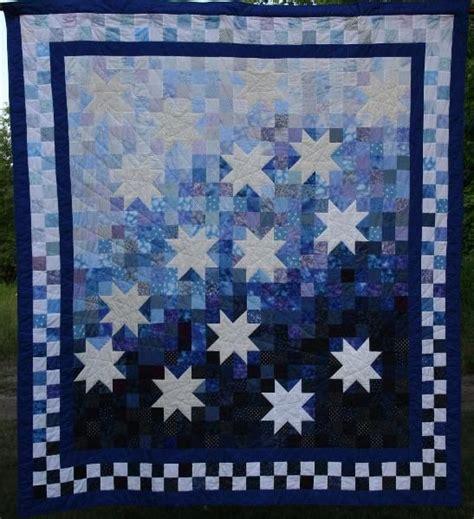 Starry Quilt Pattern starry quilt diy
