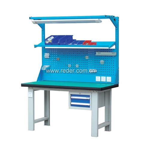 Buy Work Bench by Heavy Duty Workbench With Back Panel Steel Workbench With