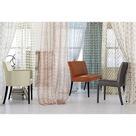 crate and barrel l shades lila curtain panel i crate and barrel living rooms