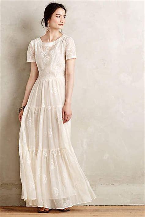 Wedding Dress Anthropologie by Embroidered Lera Maxi Dress Anthropologie Modest