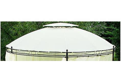 pavillon rund ersatzdach f 252 r rund pavillon beige 216 3 5 m ebay