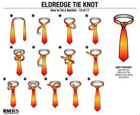 how to tie a tie the eldredge knot is this necktie