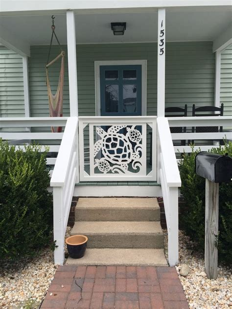 add instant home value remodel your front entryway our beautiful all weather pvc gate and porch railing