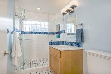 blue tile badezimmer 17 best images about small bathroom ideas on