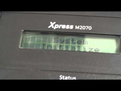 reset samsung printer m2070 how to reset a samsung xpress m2070 2070f 2070fw printer