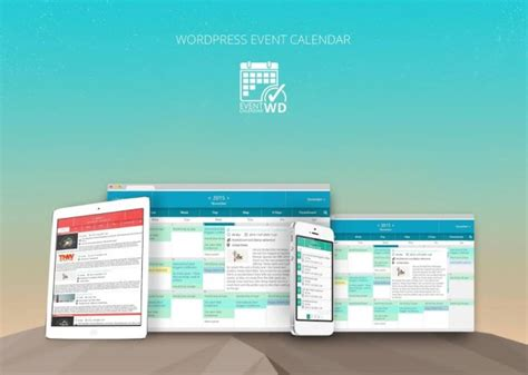 manage website event calendar wd