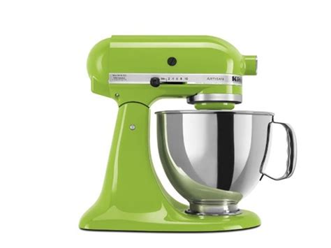 kitchenaid mixer colors green apple