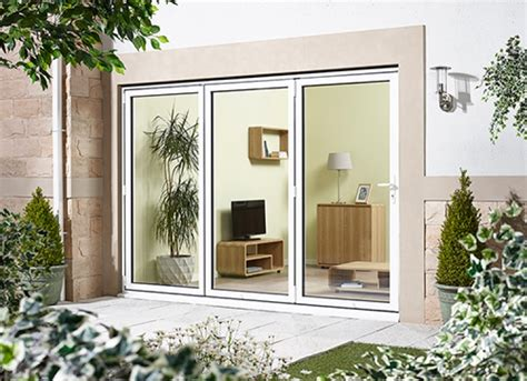 8ft patio doors 2400mm 8ft 3 door right folding from outside