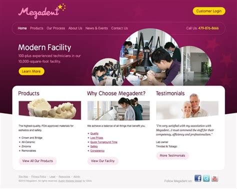 megadent glide llc website design company
