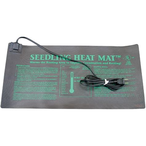 Seed Starting Heat Mats by Seedling Heat Mat 20 Quot W X 20 75 Quot L Growers Supply
