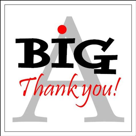 A Great Big Thankyou by Technology Bradscribe