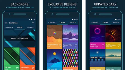 best app for android 10 best backgrounds and wallpaper apps for android