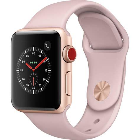Apple Series 3 Gps 38mm Gold Alum With Pink Sand Sport Band Bnob apple series 3 38mm smartwatch mqjq2ll a b h photo