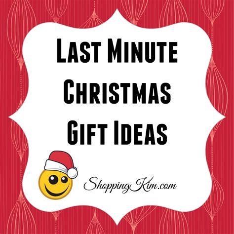 last minute christmas gift ideas shopping kim