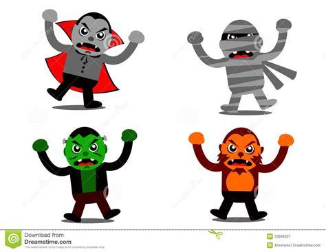 imagenes monstruos halloween personaje de dibujos animados del monstruo de halloween