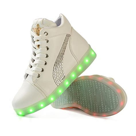 light up tennis shoes for adults buy dogeek light up shoes amazon for led shining
