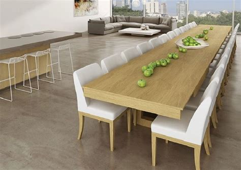 10 seater dining table mega extendable dining table ippinka