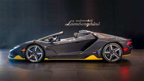 first lamborghini first lamborghini centenario roadster gets quot unboxed quot in