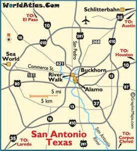 san antonio city map san antonio map san antonio attractions the alamo